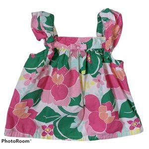 4/$25 Gymboree Girls Summer Dress 12-18M